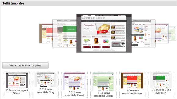 E-commerce con un negozio ActiveShop – parte terza