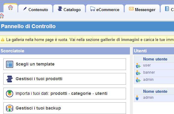 E-commerce con un negozio ActiveShop – parte ottava