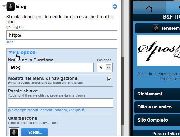Sito mobile gratis in pochi clik: goMobi – undicesima parte