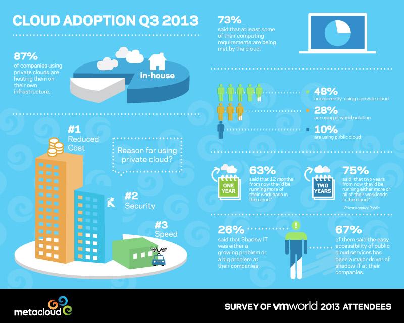 Cloud computing in cifre, per un 2013 in crescita