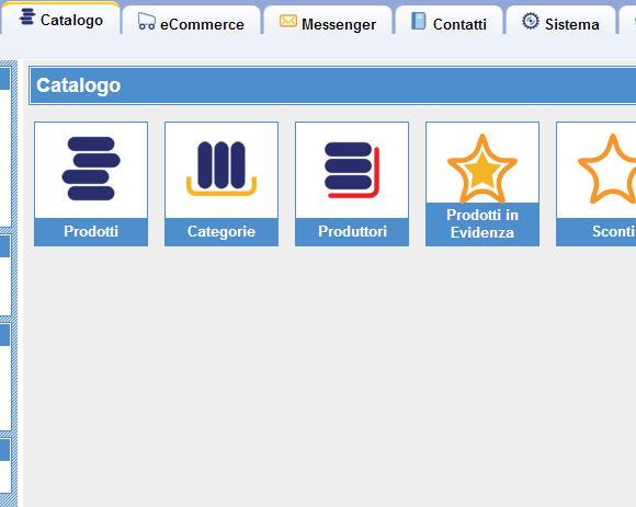 E-commerce con un negozio ActiveShop