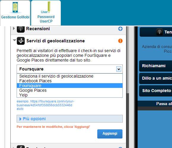 Sito mobile gratis in pochi clik: goMobi – quindicesima parte