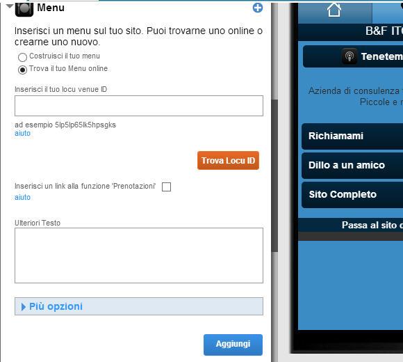 Sito mobile gratis in pochi clik gomobi una serie di novit for Sito mobili