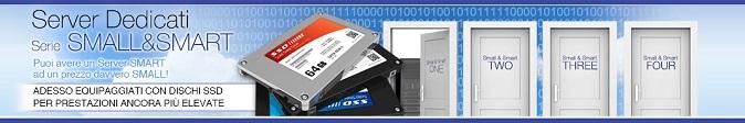 Server dedicati Small&Smart: potenza elevata a basso costo!