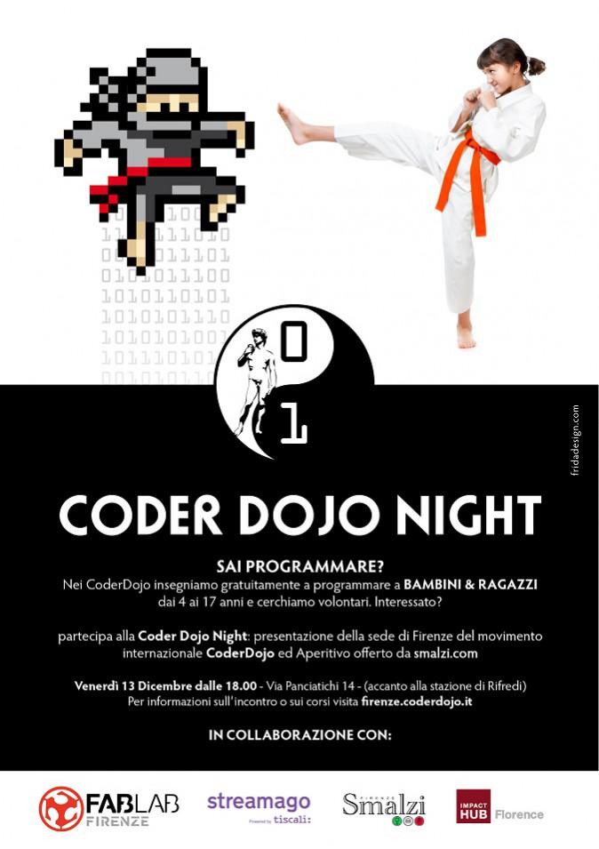 Coder Dojo Night: imparare a programmare fin da piccoli