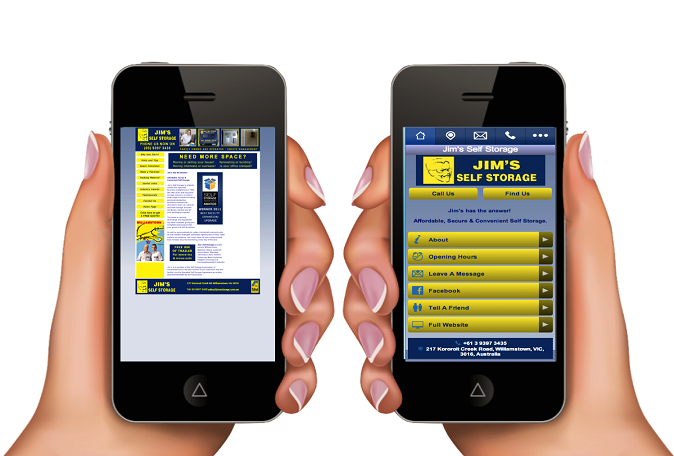 Perch fondamentale avere un sito web mobile for Sito mobili