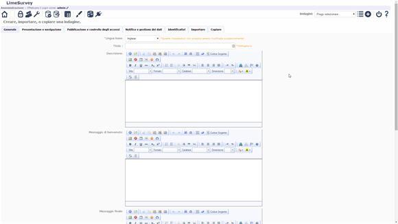 Come creare sondaggi personalizzati con LimeSurvey - II parte