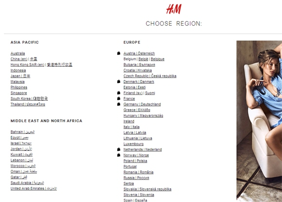Impostazioni SEO per una homepage internazionale