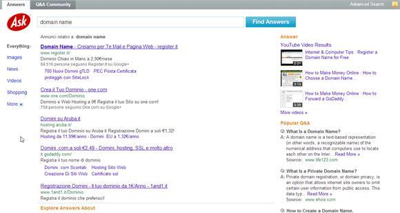 L'aggiornamento di Google all'algoritmo Panda 4.0 e il caso Ask.com