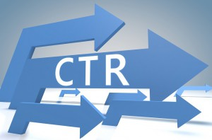 Click Through Rate CTR serp