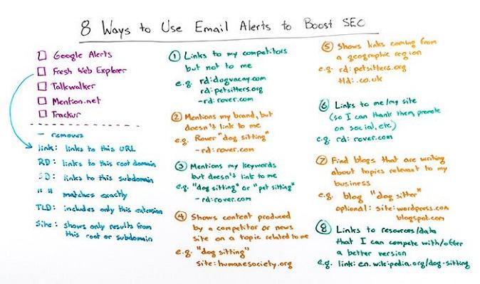 Come utilizzare le notifiche email per migliorare il SEO
