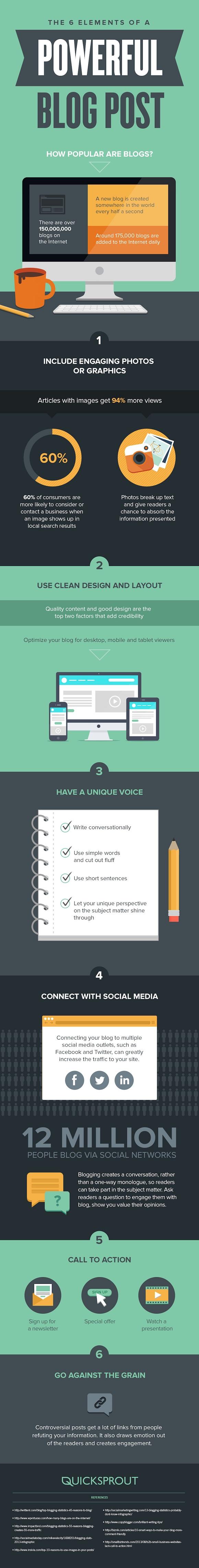 6 consigli per realizzare post efficaci in un blog