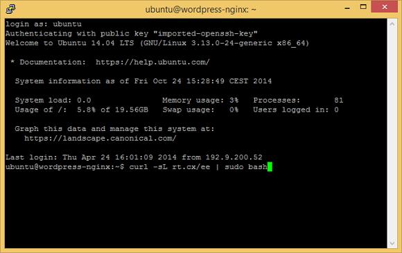 Un cloud server per WordPress con Nginx e MySQL – V parte