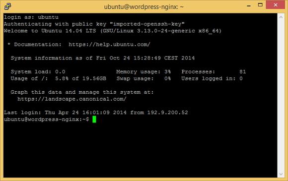 Un cloud server per WordPress con Nginx e MySQL – IV parte