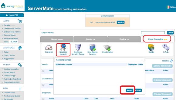 Un cloud server per WordPress con Nginx e MySQL – I parte