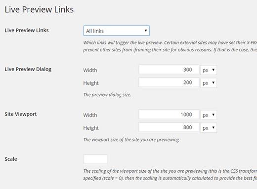 Come mostrare l'anteprima link in WordPress