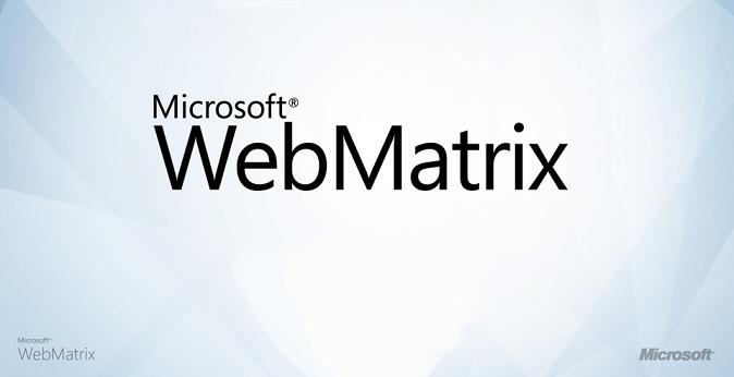 Microsoft WebMatrix, cos'è e a chi si rivolge