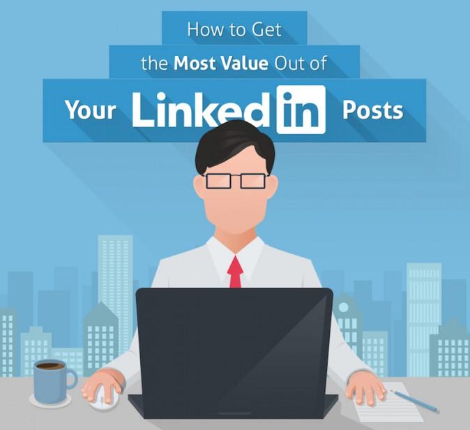 Le 8 regole d'oro per migliorare la visibilità dei post LinkedIn