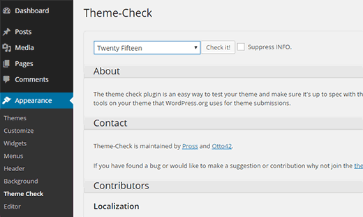 Tema WordPress senza problemi in un clic