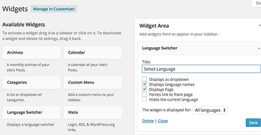 Un sito multilingua WordPress senza troppi sforzi – II parte