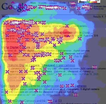 serp google golden triangle