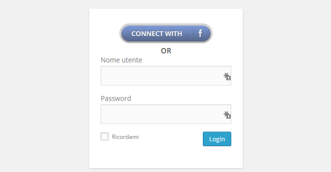 Login WordPress con Facebook? Ecco come