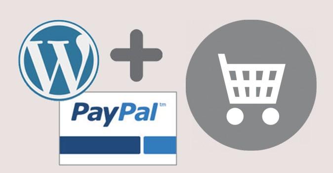 wordpress paypal e-commerce