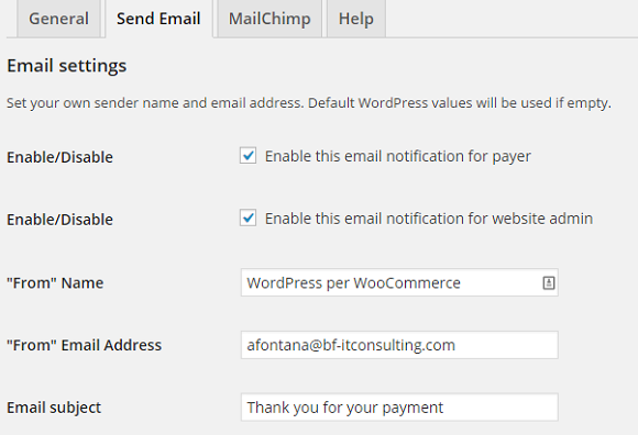wordpress paypal payment