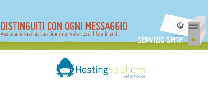 SMTP autenticato dedicato di Hosting Solutions