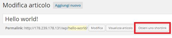wordpress wp bitly shortlink 5