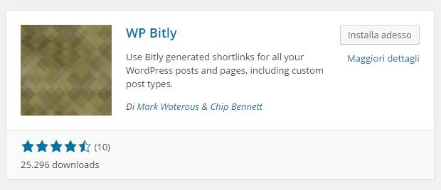 wordpress wp bitly shortlink