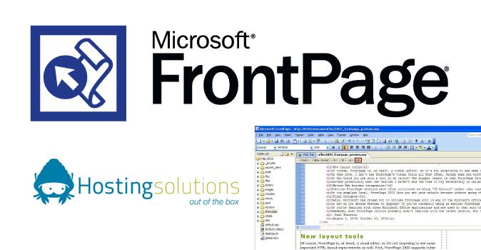 Hosting Windows FrontPage: il servizio di Hosting Solution – 1