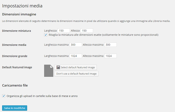 wordpress gestione immagini Default Features Image 6