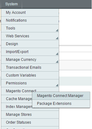 magento connect 1
