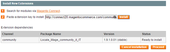 magento connect 5