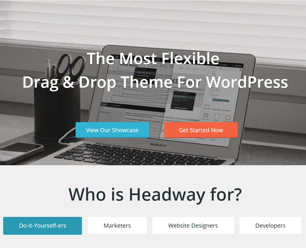WordPress estensioni site builder - Headway