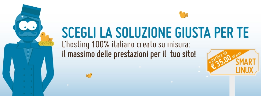 Smart Linux, il nuovo piano hosting Linux di Hosting Solutions