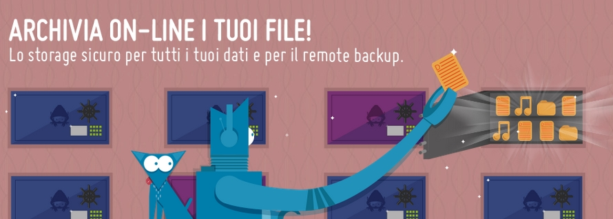 Nuovi servizi storage Hosting Solutions