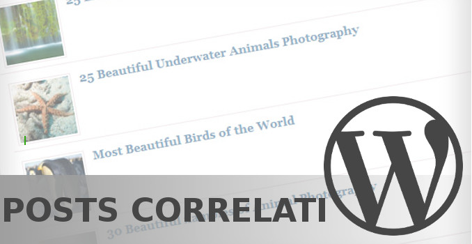 5 best plugin per i post correlati in WordPress