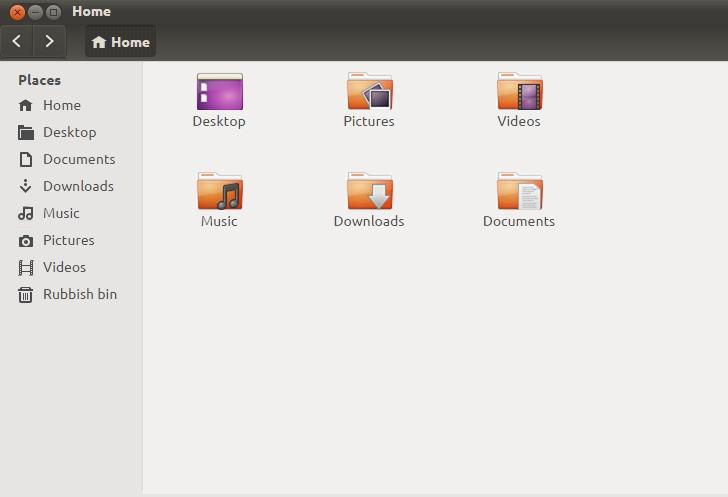 Una schermata di Ubuntu