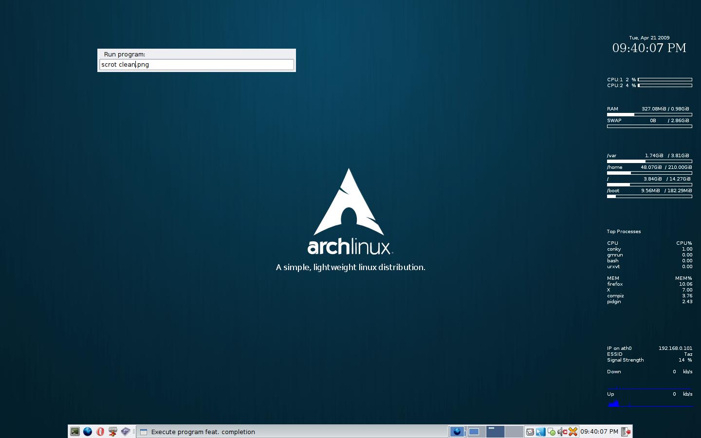 Distribuzioni Linux: Arch Linux