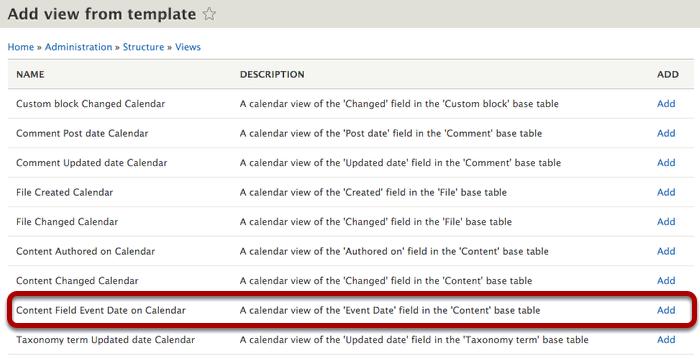 Drupal 8 come inserire un calendario
