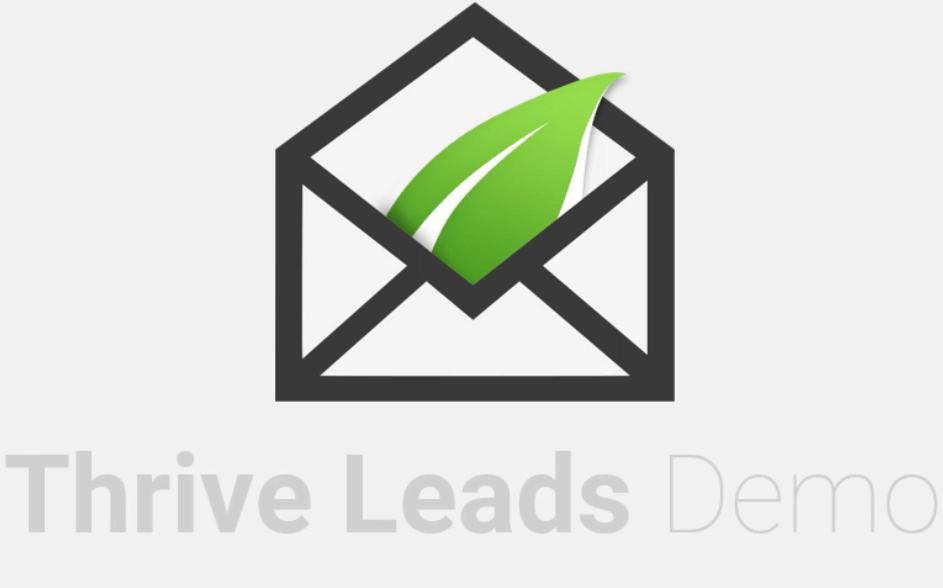 Thrive Leads popup plugin