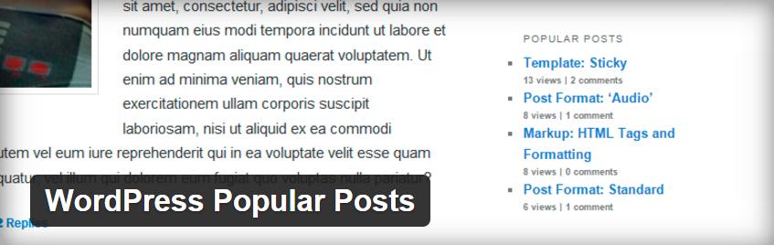 WP popular posts 1