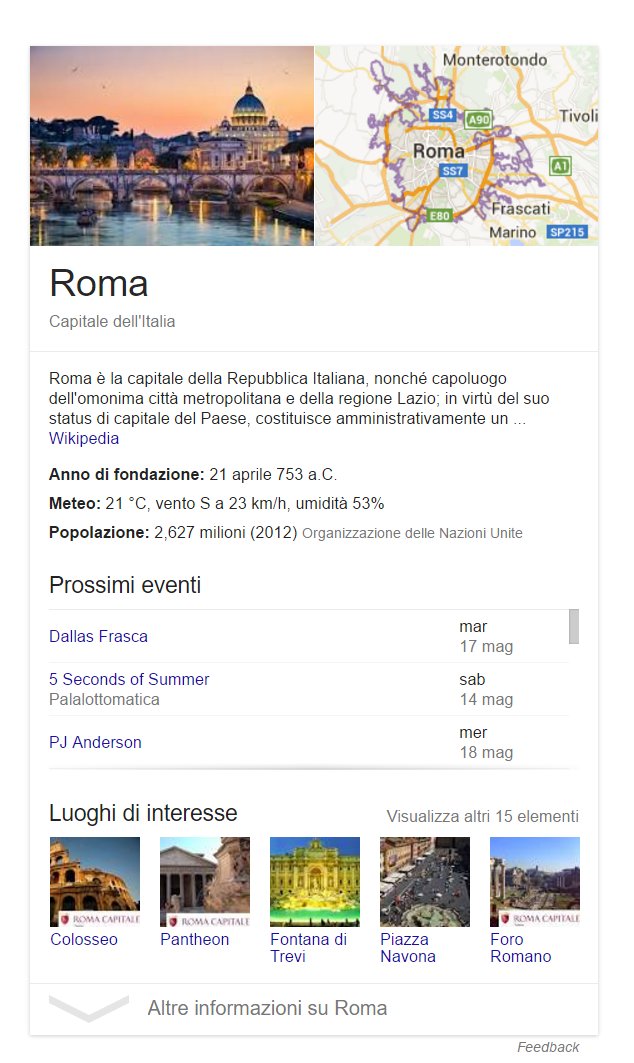 Roma Knowledge Graph