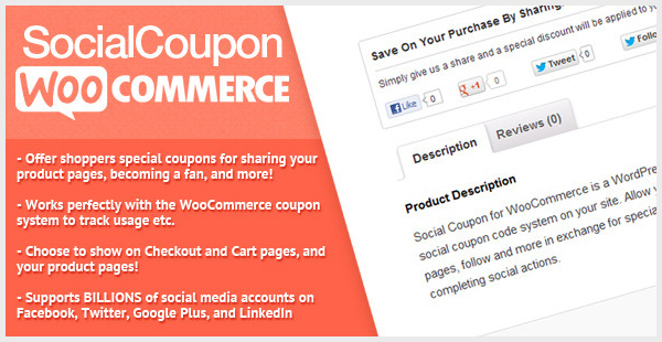 WooCommerce Social Coupon for WordPress-image