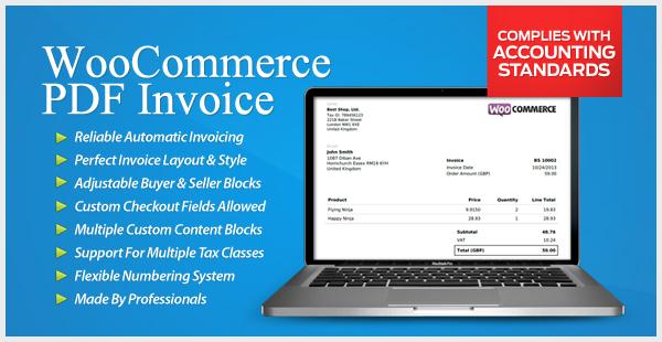 WooCommerce PDF Invoice -image