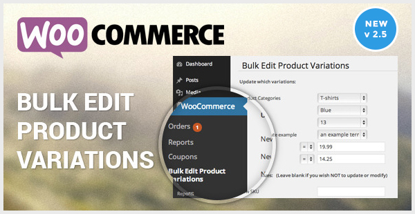 Woocommerce Bulk Edit Variable Products & Prices-image