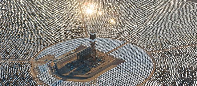 Centrale solare in Marocco