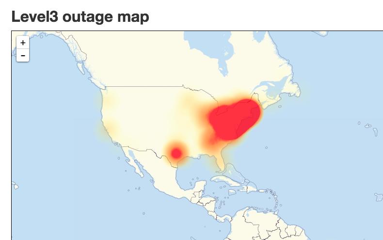 DYN attacco DDoS